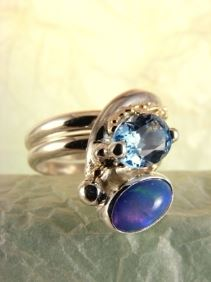 Original Handmade by Artist Designer Maker, Gregory Pyra Piro One of a Kind Original #Handmade #Sterling #Silver and #Gold, Jewellery in #London, #Art Jewellery, #Jewellery Handcrafted by #Artist, #Ring 2015