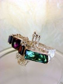Original Handmade by Artist Designer Maker, Gregory Pyra Piro One of a Kind Original #Handmade #Sterling #Silver and #Gold, Jewellery in #London, #Art Jewellery, #Jewellery Handcrafted by #Artist, #Ring 7439