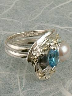 Original Handmade by Artist Designer Maker, Gregory Pyra Piro One of a Kind Original #Handmade #Sterling #Silver and #Gold, Jewellery in #London, #Art Jewellery, #Jewellery Handcrafted by #Artist, #Ring 2484