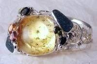 RT or Repin this Unique High Standard Handcrafted Jewellery Now and visit our Website, Gregory Pyra Piro One of a Kind Original #Handmade #Sterling #Silver and #Gold, Jewellery in #London, #Art Jewellery, #Jewellery Handcrafted by #Artist, #Watch 8394