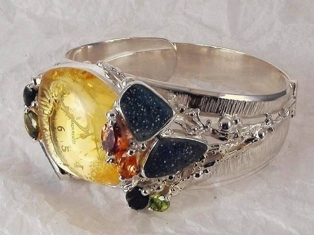 Follow us, Join us on Facebook, and visit http://www.designerartjewellery.com, Gregory Pyra Piro One of a Kind Handmade Jewellery in London in Silver and Gold, Bespoke Jewellery with Semi Precious Stones, #Watch 8394