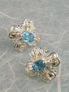 Original Handmade by Artist Designer Maker, Gregory Pyra Piro One of a Kind Original #Handmade #Sterling #Silver and #Gold, Jewellery in #London, #Art Jewellery, #Jewellery Handcrafted by #Artist, #Earrings 6584
