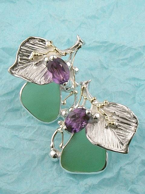 Original Handmade by Artist Designer Maker, Gregory Pyra Piro One of a Kind Original #Handmade #Sterling #Silver and #Gold, Jewellery in #London, #Art Jewellery, #Jewellery Handcrafted by #Artist, #Earrings 9439