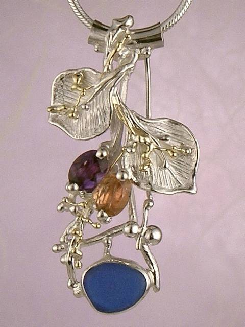 Original Handmade by Artist Designer Maker, Gregory Pyra Piro One of a Kind Original #Handmade #Sterling #Silver and #Gold, Jewellery in #London, #Art Jewellery, #Jewellery Handcrafted by #Artist, #Pendant 8090