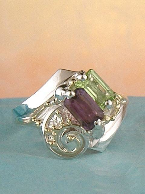 Original Handmade by Artist Designer Maker, Gregory Pyra Piro One of a Kind Original #Handmade #Sterling #Silver and #Gold, Jewellery in #London, #Art Jewellery, #Jewellery Handcrafted by #Artist, #Ring 3502