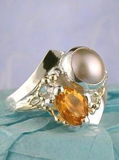 Original Handmade by Artist Designer Maker, Gregory Pyra Piro One of a Kind Original #Handmade #Sterling #Silver and #Gold, Jewellery in #London, #Art Jewellery, #Jewellery Handcrafted by #Artist, #Ring 5835