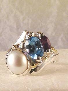 Original Handmade by Artist Designer Maker, Gregory Pyra Piro One of a Kind Original #Handmade #Sterling #Silver and #Gold, Jewellery in #London, #Art Jewellery, #Jewellery Handcrafted by #Artist, #Ring 4273