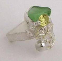 Original Handmade by Artist Designer Maker, Gregory Pyra Piro One of a Kind Original #Handmade #Sterling #Silver and #Gold, Jewellery in #London, #Art Jewellery, #Jewellery Handcrafted by #Artist, #Ring 2213