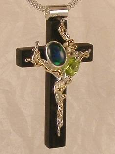 Follow Me and Visit my Site http://www.designerartjewellery.com Gregory Pyra Piro One of a Kind Handmade Jewellery in London in Silver and Gold, Bespoke Jewellery with Semi Precious Stones, #Cross #Pendant 9837