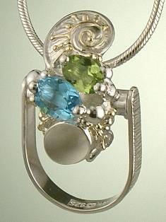 Original Handmade by Artist Designer Maker, Gregory Pyra Piro One of a Kind Original #Handmade #Sterling #Silver and #Gold, Jewellery in #London, #Art Jewellery, #Jewellery Handcrafted by #Artist, #Ring Pendant 2893