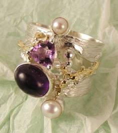 Follow us, Join us on Facebook, and visit http://www.designerartjewellery.com, Gregory Pyra Piro One of a Kind Handmade Jewellery in London in Silver and Gold, Bespoke Jewellery with Semi Precious Stones, #Ring 53821