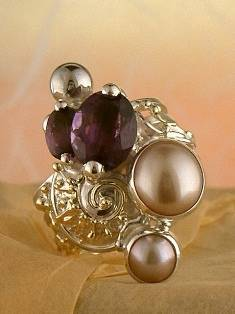 Original Handmade by Artist Designer Maker, Gregory Pyra Piro One of a Kind Original #Handmade #Sterling #Silver and #Gold, Jewellery in #London, #Art Jewellery, #Jewellery Handcrafted by #Artist, #Ring 1825