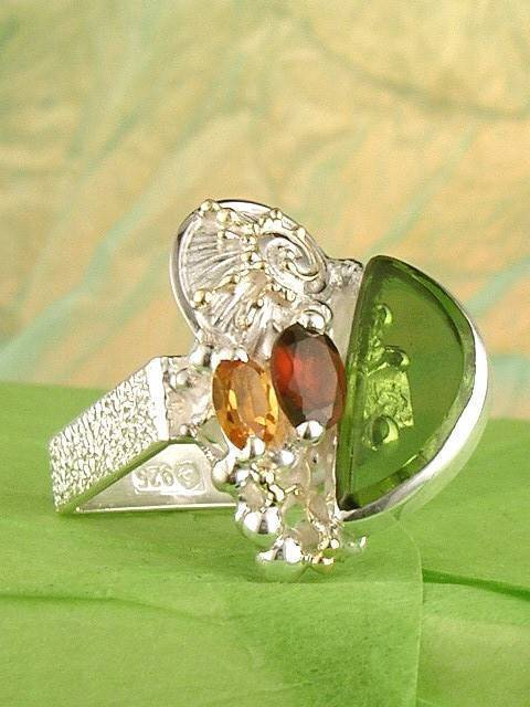 Original Handmade by Artist Designer Maker, Gregory Pyra Piro One of a Kind Original #Handmade #Sterling #Silver and #Gold, Jewellery in #London, #Art Jewellery, #Jewellery Handcrafted by #Artist, #Ring #6492