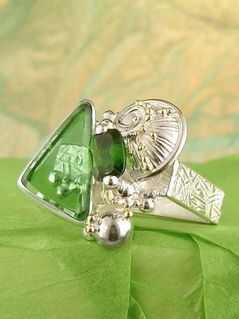 Original Handmade by Artist Designer Maker, Gregory Pyra Piro One of a Kind Original #Handmade #Sterling #Silver and #Gold, Jewellery in #London, #Art Jewellery, #Jewellery Handcrafted by #Artist, #Ring 2943