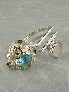 Original Handmade by Artist Designer Maker, Gregory Pyra Piro One of a Kind Original #Handmade #Sterling #Silver and #Gold, Jewellery in #London, #Art Jewellery, #Jewellery Handcrafted by #Artist, #Ring 6043