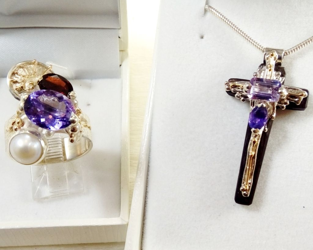gregory pyra piro sculptural one of a kind jewellery, jewellery with home delivery in Galway, jewellery with home delivery in Dublin, jewellery with home delivery in Belfast, jewellery sold in art galleries, jewellery sold in craft galleries, jewellery artist in Europe, handcrafted art jewellery, auction style handcrafted jewellery, jewellery made by jewellery maker, artistic handcrafted jewellery made by artisan, art jewellery handcrafted by artist, handcrafted jewellery with gemstones and pearls, Cross Pendant 2721