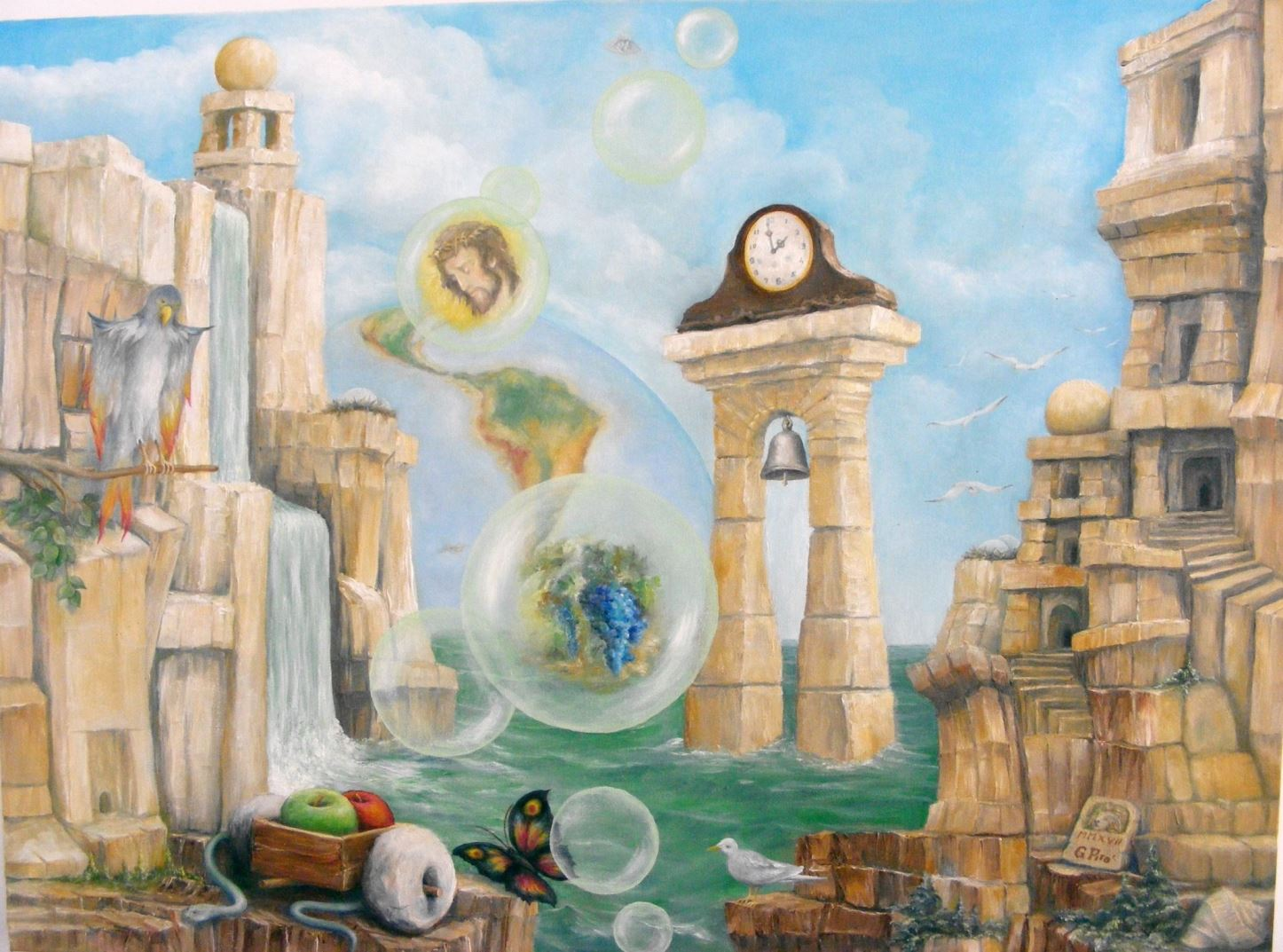 Painting, Gregory Pyra Piro, Surrealism, Oil on Canvas