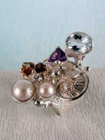 Follow us, Join us on Facebook, and visit http://www.designerartjewellery.com, Gregory Pyra Piro One of a Kind Handmade Jewellery in London in Silver and Gold, Bespoke Jewellery with Semi Precious Stones, Band #Ring 2050
