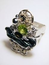 Original Handmade by Artist Designer Maker, Gregory Pyra Piro One of a Kind Original #Handmade #Sterling #Silver and #Gold, Jewellery in #London, #Art Jewellery, #Jewellery Handcrafted by #Artist, #Ring 1080