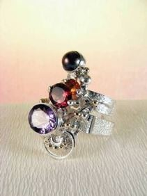 Follow us, Join us on Facebook, and visit http://www.designerartjewellery.com, Gregory Pyra Piro One of a Kind Handmade Jewellery in London in Silver and Gold, Bespoke Jewellery with Semi Precious Stones, #Ring 2631