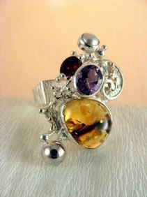 Original Handmade by Artist Designer Maker, Gregory Pyra Piro One of a Kind Original #Handmade #Sterling #Silver and #Gold, Jewellery in #London, #Art Jewellery, #Jewellery Handcrafted by #Artist, #Ring 1710