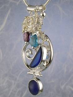 Follow us, Join us on Facebook, and visit http://www.designerartjewellery.com, Gregory Pyra Piro One of a Kind Handmade Jewellery in London in Silver and Gold, Bespoke Jewellery with Semi Precious Stones, #Pendant 5845