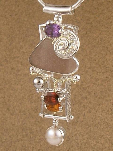 Follow us, Join us on Facebook, and visit http://www.designerartjewellery.com, Gregory Pyra Piro One of a Kind Handmade Jewellery in London in Silver and Gold, Bespoke Jewellery with Semi Precious Stones, #Pendant 6845