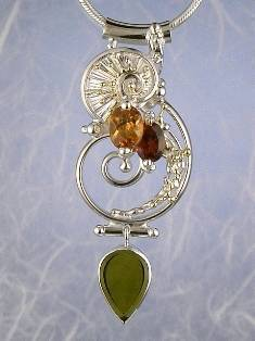 Follow us, Join us on Facebook, and visit http://www.designerartjewellery.com, Gregory Pyra Piro One of a Kind Handmade Jewellery in London in Silver and Gold, Bespoke Jewellery with Semi Precious Stones, #Pendant 2849