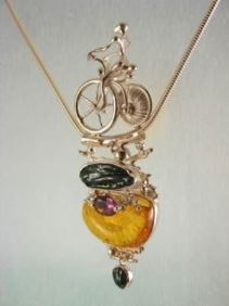 Follow us, Join us on Facebook, and visit http://www.designerartjewellery.com, Gregory Pyra Piro One of a Kind Handmade Jewellery in London in Silver and Gold, Bespoke Jewellery with Semi Precious Stones, #Pendant 2533