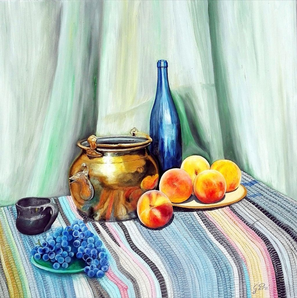 Oil Painting, Still Life, Oil on Canvas, Gregory Pyra Piro